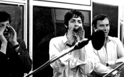 Recording with Paul McCartney
