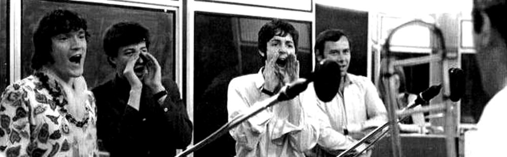 Recording with Paul McCartney